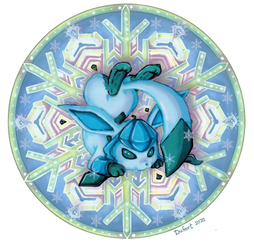 Glaceon - Colored