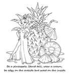 Pineapple by JadeDragonne