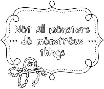 Monsters - Text