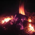 Samhain fire V - Purple magic by baroquedoll
