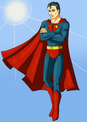 Superman by Detkef