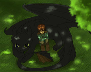 HTTYD colored by Detkef