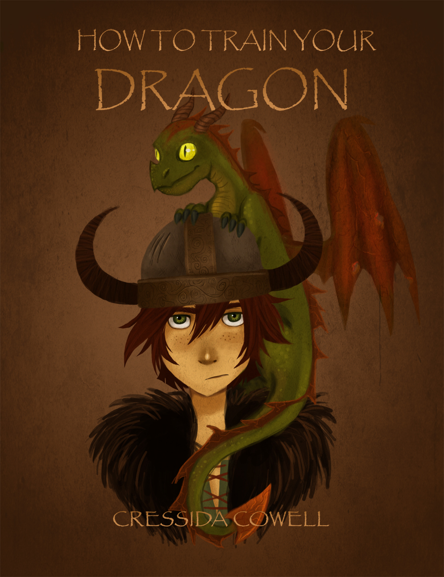 Book Cover Drawing Examples ~ Httyd project cover by detkef on deviantart