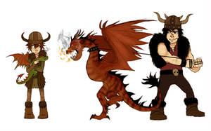 HTTYD project test
