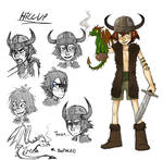 Hiccup book style