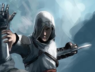 Altair speedpaint by Detkef