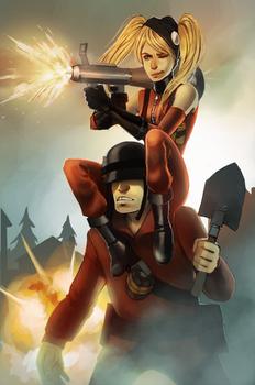 Commission: OC pyro