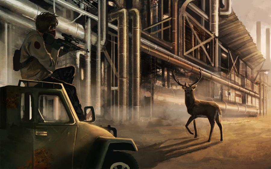 Deer by Detkef