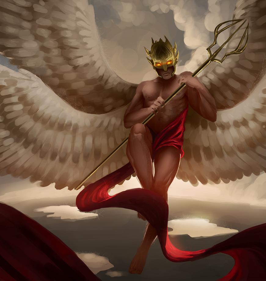 War angel by Detkef