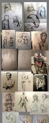sketchdump by Detkef