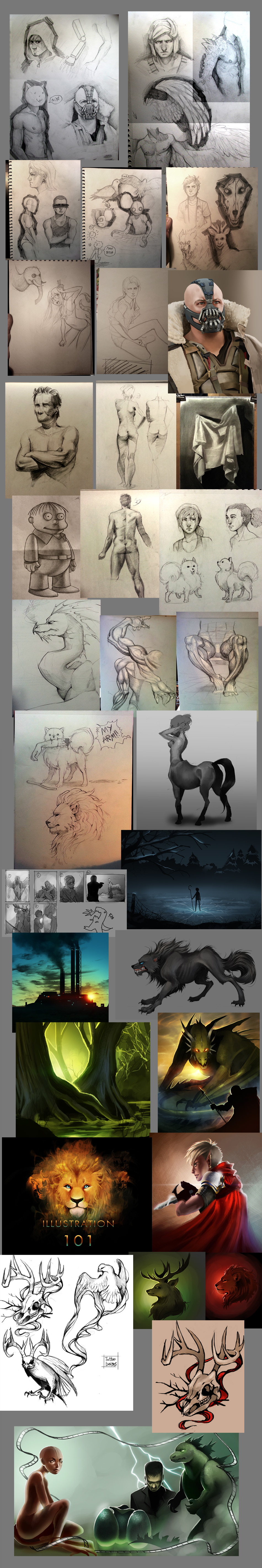 sketchdump by Detkef