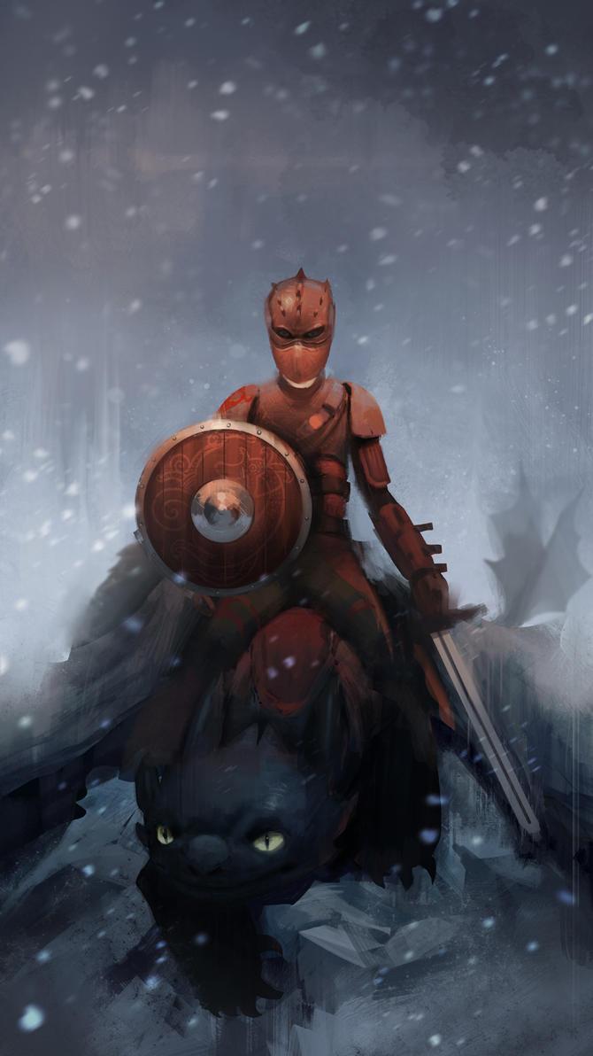 Dragon warrior by Detkef