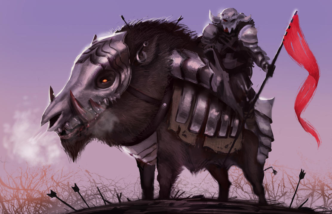 Armored Boar by Detkef