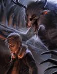 commission: wendigo attack