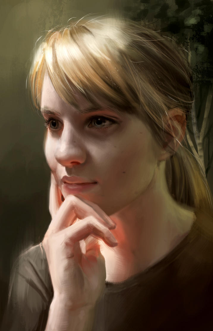 Self portrait by Detkef