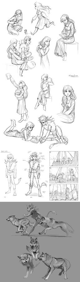 MORE peter pan concept sketches