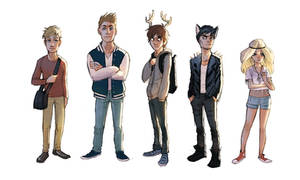 Teen deer lineup