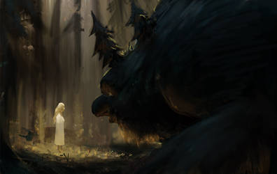 forest troll by Detkef