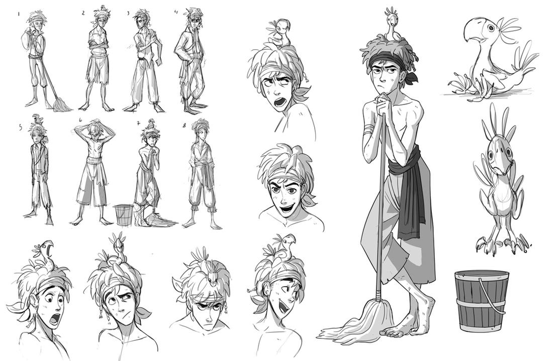 how to train your dragon character model sheets