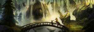 waterfall troll