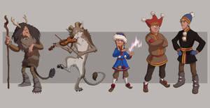 Saami characters full lineup