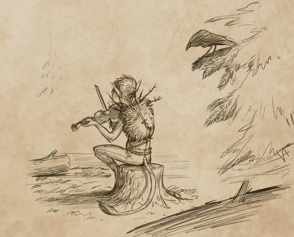 Henrik's sketch by Detkef
