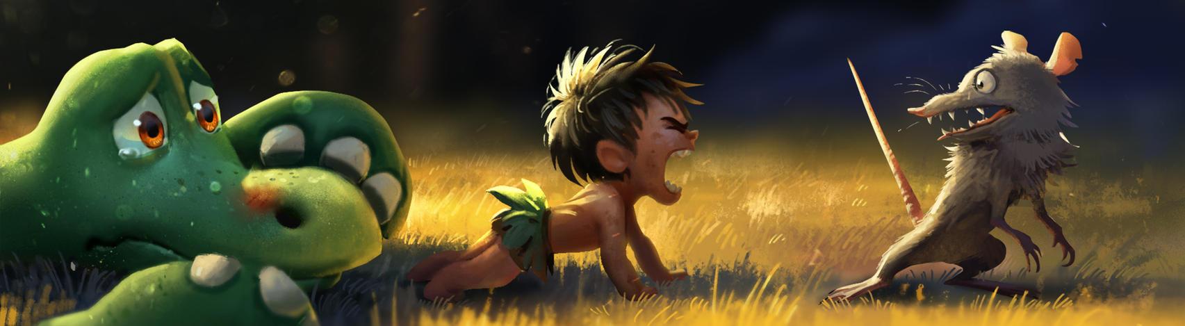 The Good Dinosaur by Detkef