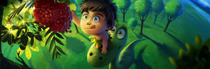 The Good Dinosaur: helping out