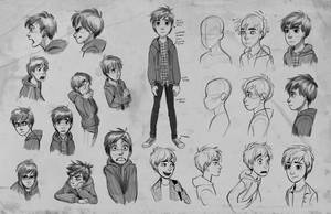 Jay exploration sketches