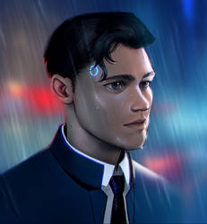Detroit become human: Connor by Detkef