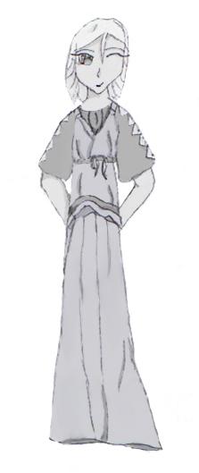 Roman Woman Wearing the Stola by YRP-Rikku on DeviantArt