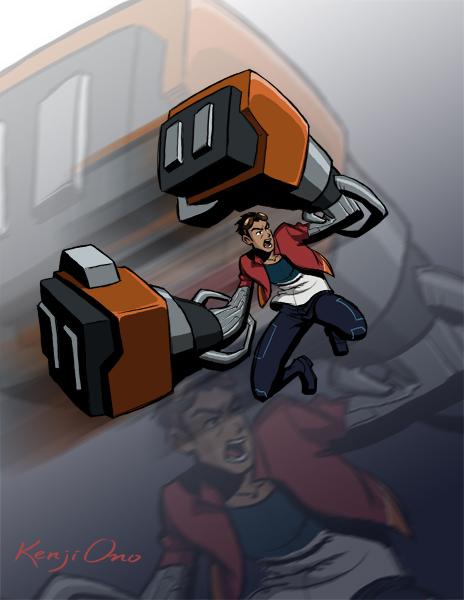 Generator Rex by kenjiono