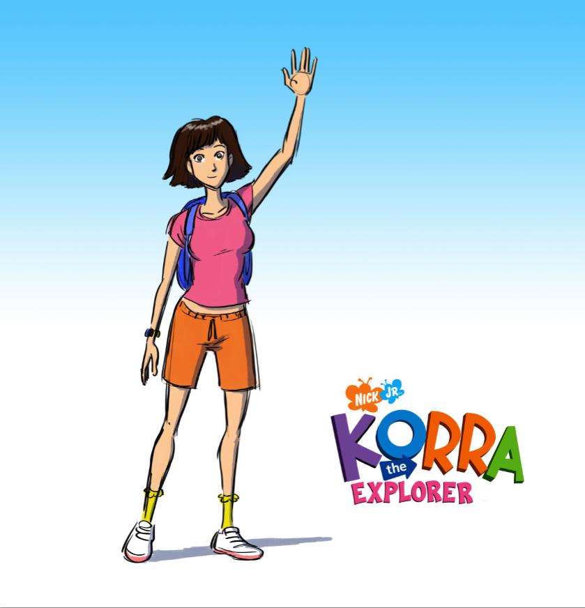 Korra the Explorer by kenjiono