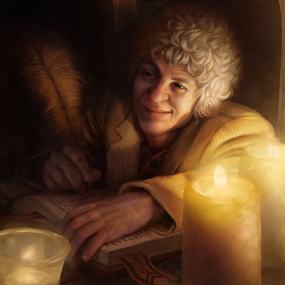 Lord of the Rings: TCG - Bilbo Baggins by AnthonyFoti