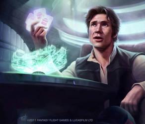 Star Wars: TCG - Han Solo by AnthonyFoti