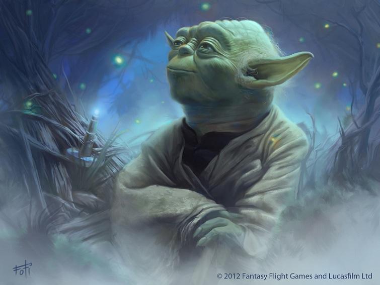 Star Wars: TCG - Yoda by AnthonyFoti