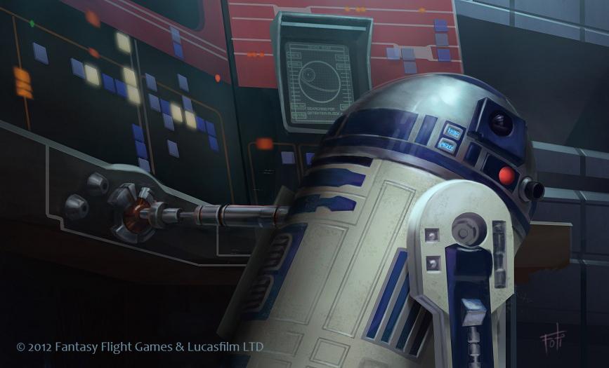 Star Wars: TCG - R2-D2 by AnthonyFoti