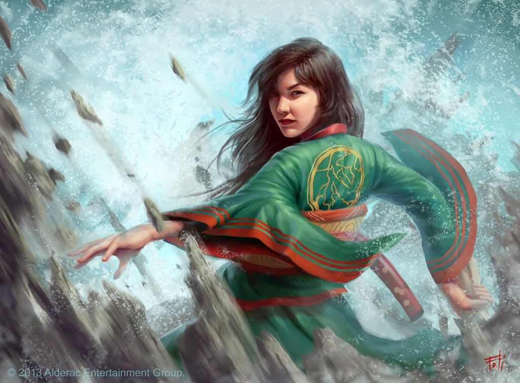 L5R: Yoritomo Harumi by AnthonyFoti