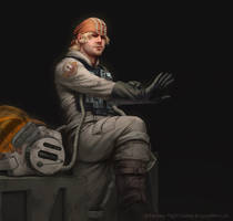 Star Wars: AoR - B-Wing Ace by AnthonyFoti
