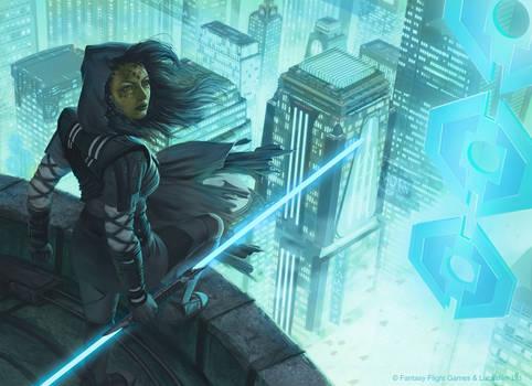 Star Wars: Force and Destiny - Jedi Shadow