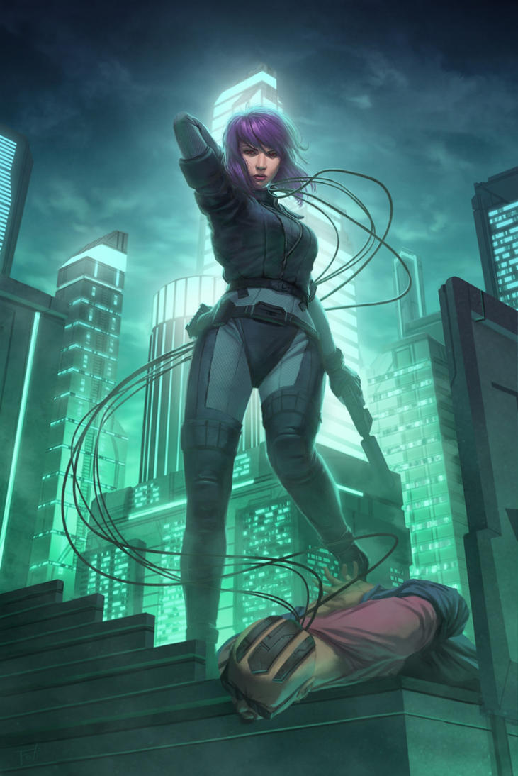 Kusanagi by AnthonyFoti