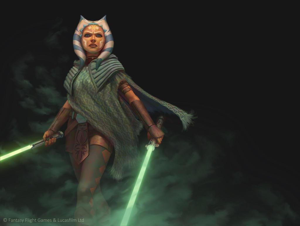 Star Wars: Force and Destiny - Ahsoka Tano by AnthonyFoti