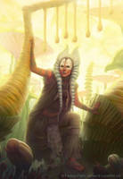 Star Wars: Force and Destiny - Shaak Ti by AnthonyFoti