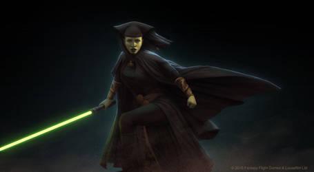 Star Wars: Force and Destiny - Luminara Unduli by AnthonyFoti