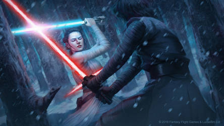 Star Wars: Destiny - Natural Affinity by AnthonyFoti