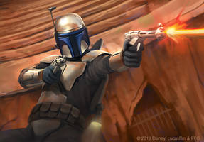 Jango Fett - Star Wars Destiny