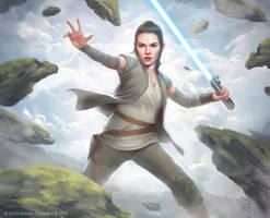 Rey - Star Wars Destiny