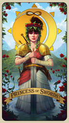 Rachel Fannan - Princess of Swords