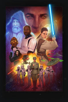 My Roommate the Jedi Theatrical Poster