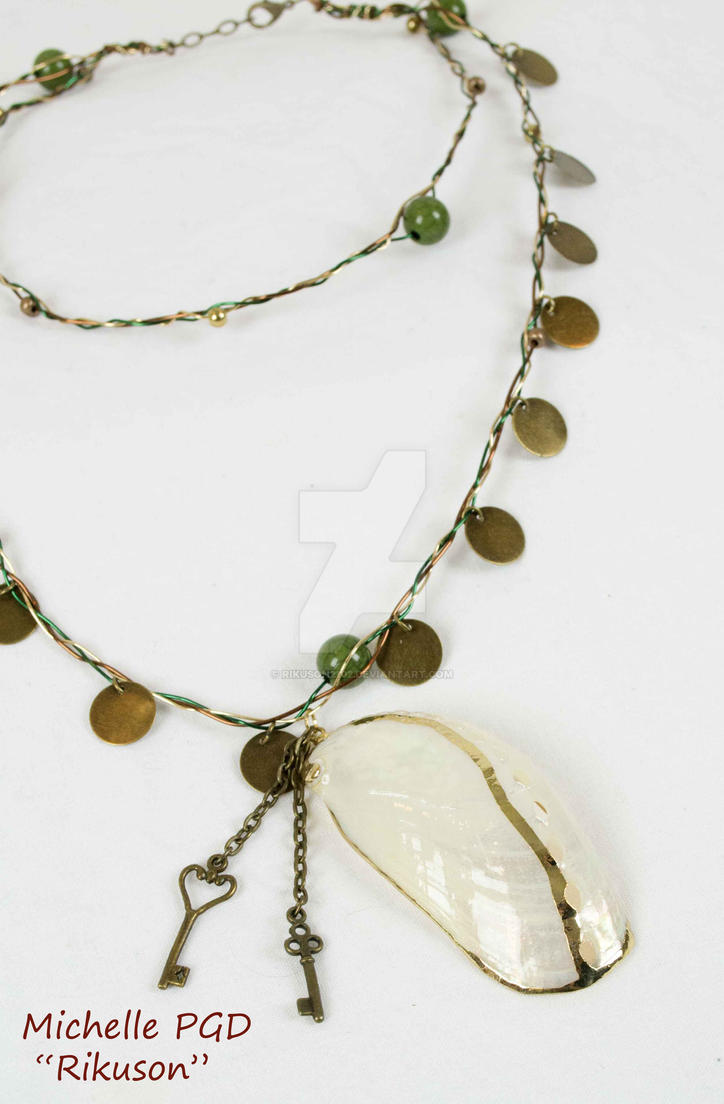 Gold Seashell by rikuson2102